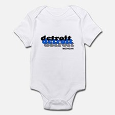 Detroit Lion Infant Bodysuit