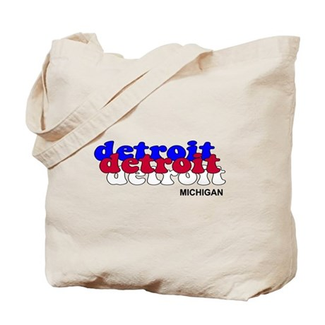 Detroit Piston Tote Bag