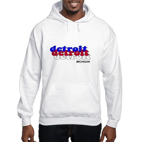 Detroit Piston Hooded Sweatshirt