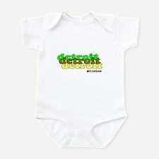 Detroit Retro Infant Bodysuit