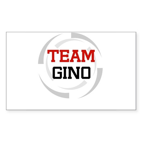 Gino Rectangle Sticker