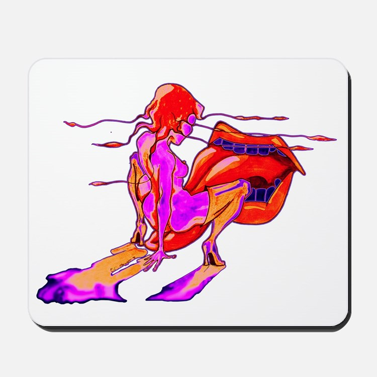 Red Paydirt Mousepad