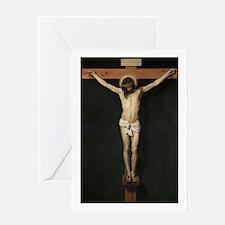 Jesus Crucifiixion Greeting Cards