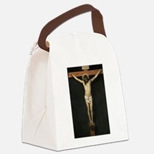 Jesus Crucifiixion Canvas Lunch Bag