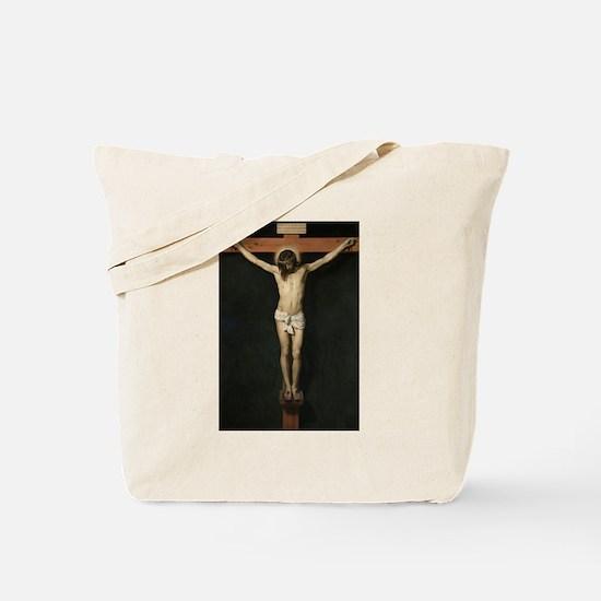 Jesus Crucifiixion Tote Bag