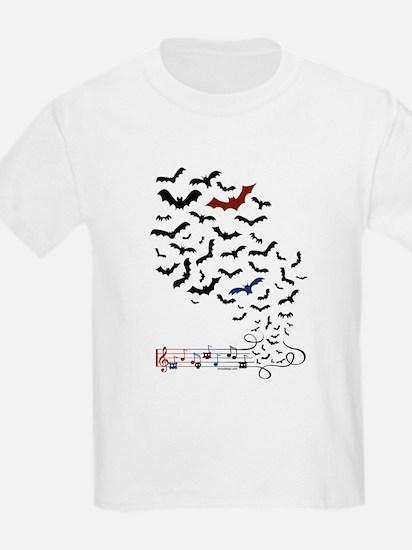 Bat Music Design T-Shirt