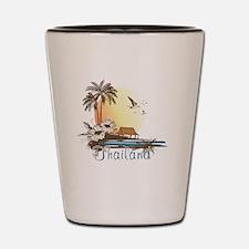 Thailand Tropical Shot Glass