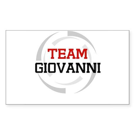 Giovanni Rectangle Sticker