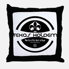 Unique Holdem Throw Pillow