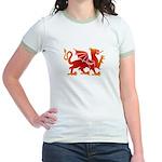 Dragon tattoo Jr. Ringer T-Shirt
