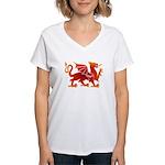 Dragon tattoo Women's V-Neck T-Shirt