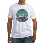 USS BON HOMME RICHARD Fitted T-Shirt