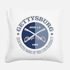 Gettysburg (battle) Square Canvas Pillow