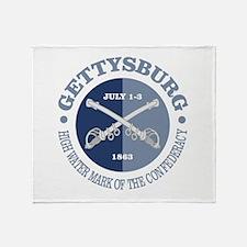 Gettysburg (battle) Throw Blanket