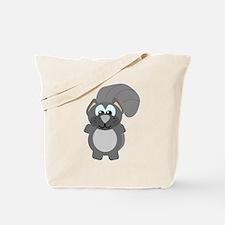 Cute Goofkins Gray Squirrel Tote Bag