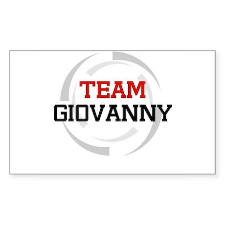Giovanny Rectangle Sticker