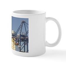 Containerized Cargo Port & Craneseport: Mug