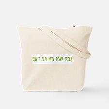 Power Tools Tote Bag