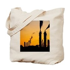 Kapuni Gas Production Station at Dawn, So Tote Bag