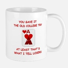 card player Mugs
