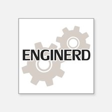 Enginerd Engineer Nerd Sticker