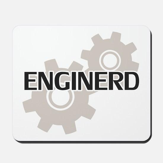Enginerd Engineer Nerd Mousepad