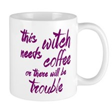 This Witch Needs Coffee Mugs