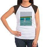 The lacs Women's Cap Sleeve T-Shirt