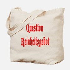 Question Reinheitsgebot Tote Bag