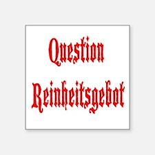 Question Reinheitsgebot Sticker