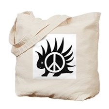 Porcupine Peace Tote Bag, Both Sides