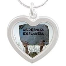 Wilderness explorers Silver Heart Necklace