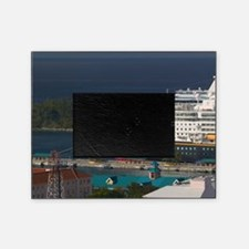 Nassau: City View & Cruiseships from Picture Frame