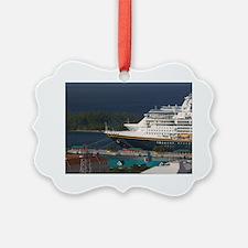 Nassau: City View & Cruiseships f Ornament