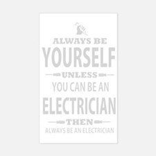 Always Be Yourself Sticker (Rectangle)