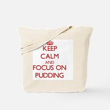 Funny Pudding Tote Bag