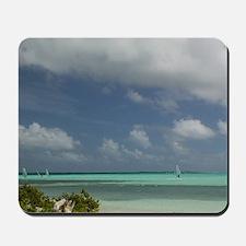 Sorobon Beach: Windsurfing on Lac Bay &  Mousepad