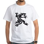 Black Panther Tattoo White T-Shirt