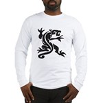 Black Panther Tattoo Long Sleeve T-Shirt