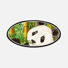 Watercolor Panda Asian Bear Patches
