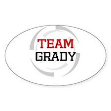 Grady Oval Decal