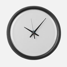 Funny Daly family crest Large Wall Clock