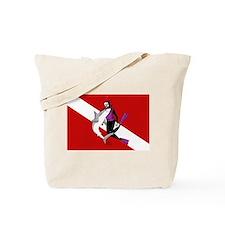 Diver Tote Bag