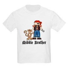 Pirate Middle Brother T-Shirt
