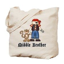 Pirate Middle Brother Tote Bag