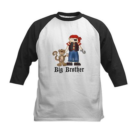 Pirate Big Brother Kids Baseball Jersey