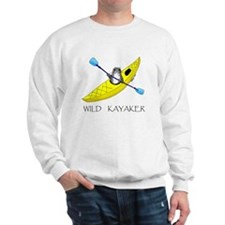 kayaking seal Sweatshirt