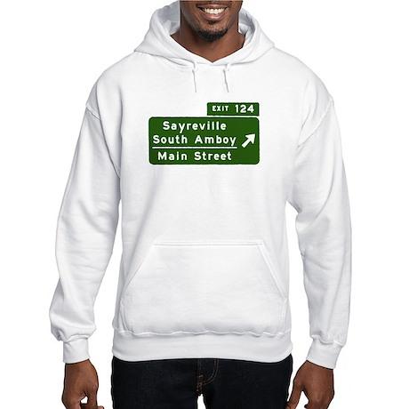 Sayreville, NJ - Parkway T-sh Hooded Sweatshirt