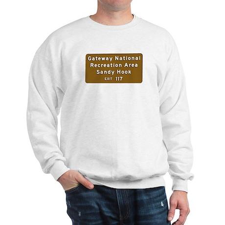 Sandy Hook, NJ - Parkway T-sh Sweatshirt