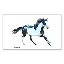 Ziggy The Stallion Rectangle Decal
